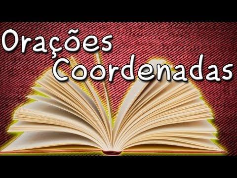 Período Composto Orações Coordenadas Assindéticas e Sindéticas - Português Aula Grátis de Gramática