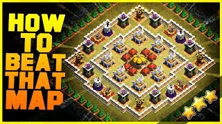 """EASY METHOD How to 3 Star """"WHERE EAGLES DARE"""" with TH9, TH10, TH11, TH12   Clash of Clans New Update"""