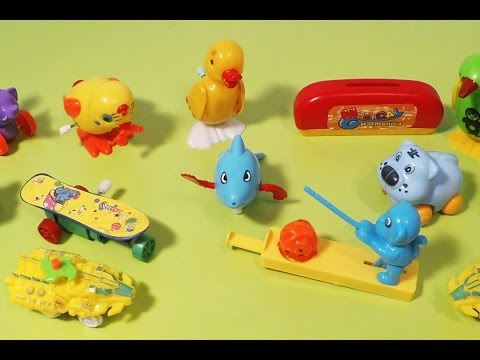 Wind Up Toys for Babies 아기를위한 장난감 Video for Kids