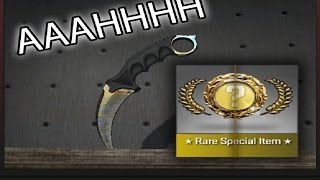 CS:GO - CASE OPENING KNIFE EPIC REACTION!!!