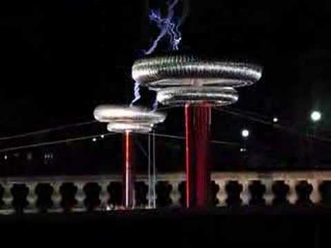 Tesla Coil Music University of Illinois at Urbana-Champaign Video