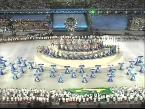 Cerimônia de Abertura dos Jogos Panamericanos Rio 2007 (Completa)