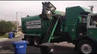 Calmet Services Trash Truck #131 Autocar Asl part 2