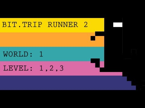 BIT.TRIP Runner 2 - World 1 - Level 1,2,3