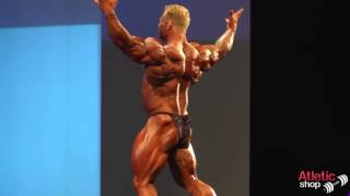 Arnold Classic Europe 2013   Dennis Wolf posing routine