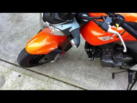 Minha moto Keeway RKV