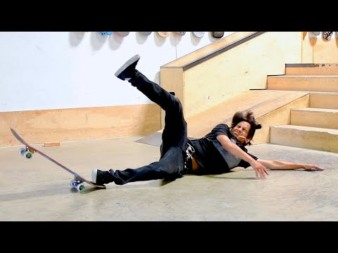 HOW TO FALL WITHOUT GETTING HURT!!   HOW TO SKATEBOARD EP. 8