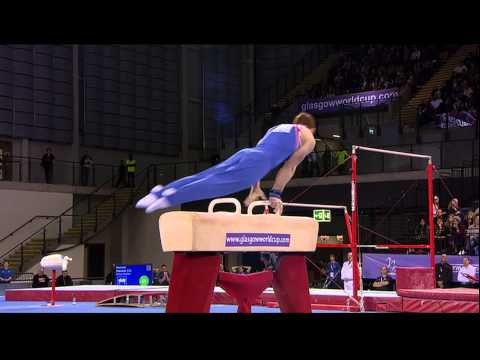 Daniel Purvis (GBR) Pommel Horse