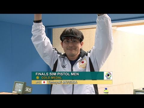 Finals 50m Pistol Men: ISSF World Cup Series 2011, Rifle & Pistol