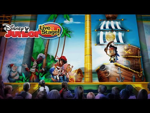 Disney Junior- Live on Stage! (featuring Jake and the Never Land Pirates)