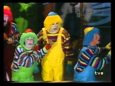 Comparsa - Entre Tus Brazos \ Actuación Completa en la FINAL \ Carnaval 1988