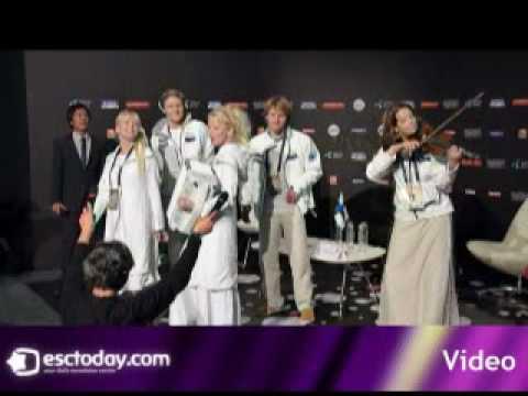 2010 Eurovision: Finland Press Conference