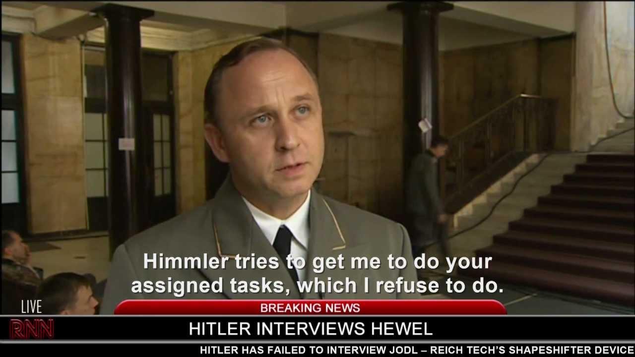 Hitler interviews Hewel