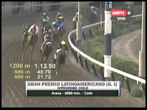 Gran Premio Latinoamericano 2013 - SABOR A TRIUNFO Hipódromo Chile