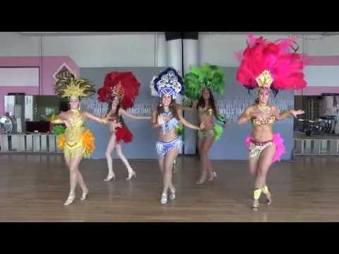 Brazilian Samba Dancing Performance In San Diego video