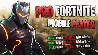 PRO FORTNITE MOBILE PLAYER // 315+ Wins // Fortnite Mobile Gameplay Tips & Tricks