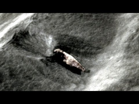 Moon anomaly: UFO crash on Moon area