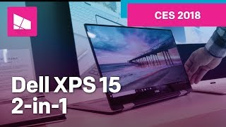 Dell XPS 15 2-in-1 9575 hands-on from CES 2018