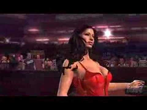 Wwe Smackdown Vs. Raw 2008 - Candice Michelle Entrance video
