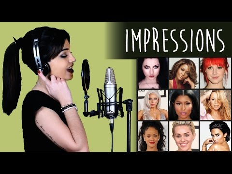 1 GIRL 9 VOICES (Demi Lovato, Whitney Houston, Mariah Carey and 6 more!)