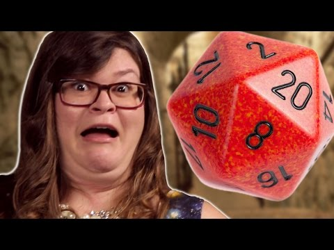 Girls Play Dungeons And Dragons For The First Time