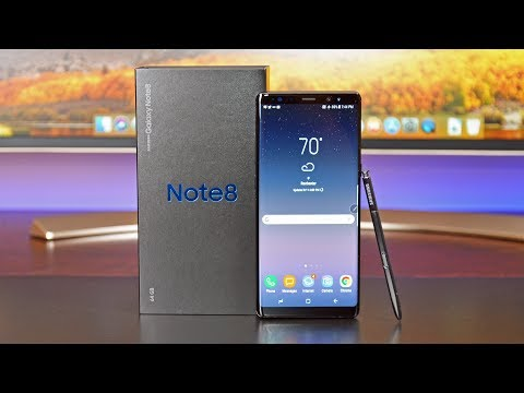 Samsung Galaxy Note 8: Unboxing & Review