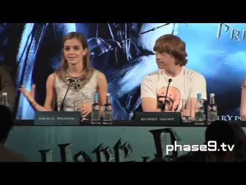 Harry Potter And The Half-Blood Prince - London Press Conference - Part 4 Of 10