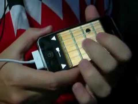Sweet Child O  Mine (Apple iPhone guitar)