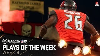 Madden 19 - Plays of the Week 9