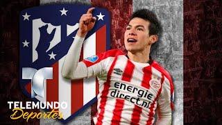 Atlético de Madrid pone la mira en el Chucky Lozano   Ms Ftbol   Telemundo Deportes