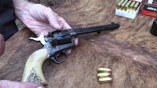 Davy Colt SAA   Grandpa's Cavalry Model in 7 1/2\