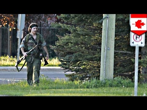 Moncton shooting: Police hunt for Justin Bourque who kills