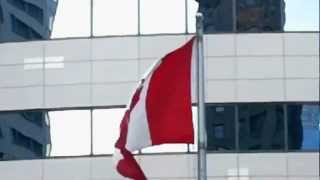 The Flag and Anthem of Canada - HD