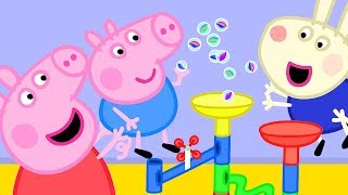 Peppa Pig Official Channel | Peppa Pig's Fun Marble Run Games