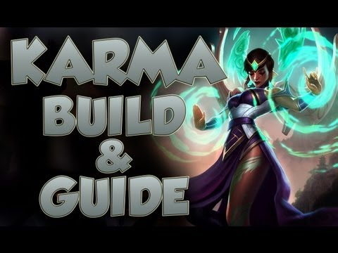 League of Legends - Karma Build - with Commentary