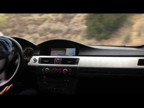 BMW M3 Canyon Drifting with M Performance Exhaust