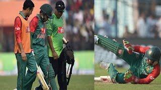 মুশফিকুর রহিমের আঘাতের কারনেই হারতে হলো বাংলাদেশকে   Mushfiqur Rahim   Bangladesh Lost The 1st ODI