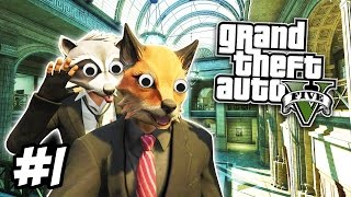 GTA 5 Heists #1 - THE BANK JOB! (GTA 5 Online Funny Moments)