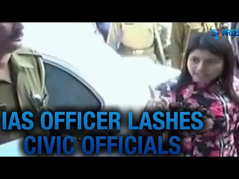 IAS Officer Chandrakala slams Bulandshahr Civic Officials in Uttar Pradesh
