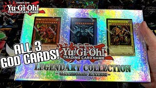 ALL 3 GOD CARDS!! Yu-Gi-Oh! Legendary Collection: Gameboard Edition Opening