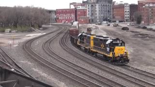 Kansas City Area Rail Action March 2017