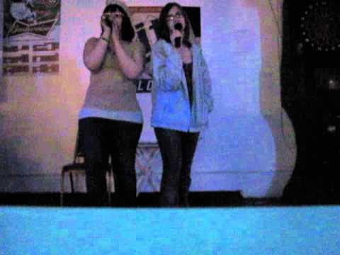 me and elle singing breaking benjamin's sooner or later