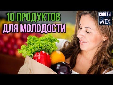 Топ 10 продуктов, которые могут сделать вас моложе Правильное питание для красоты и молодости