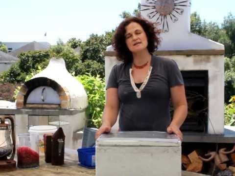 Make a Solar wax melter