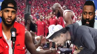CP3 GETTING TRADED IM CALLING IT! ROCKETS vs JAZZ GAME 3 HIGHLIGHTS!