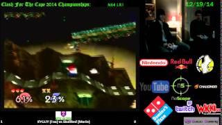 CFTC CE14: KYGUY (Fox) vs SkullRed (Mario) (LR1, N64)