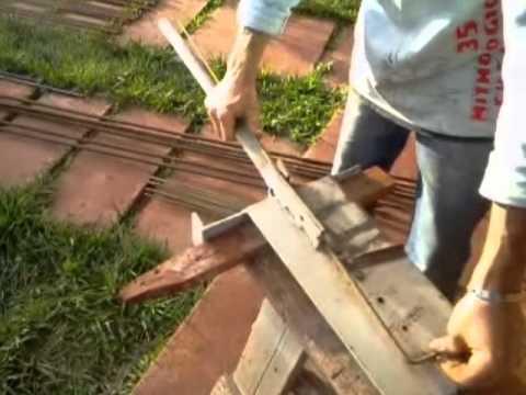 Dobradeira manual de ferro de construção até 8mm.