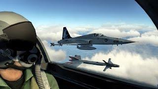 DCS World: F-5 Tigers vs MIG-21 Fishbeds ACG Cold War server