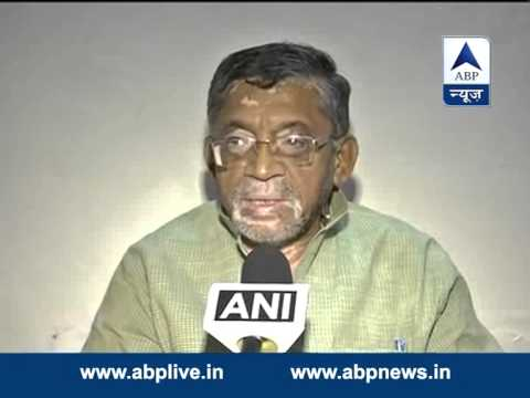 Santosh Gangwar on the cabinet