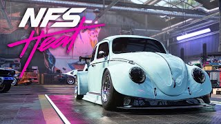 VW BEETLE BUILD & ENGINE SWAP - NEED FOR SPEED HEAT Gameplay Walkthrough Part 16 (Full Game)